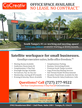 Office Rental Tampa